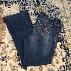 KUT Natalie High Rise Bootcut Jeans sz10 like new